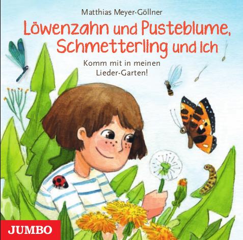 Löwenzahn und Pusteblume, Schmetterling und ich