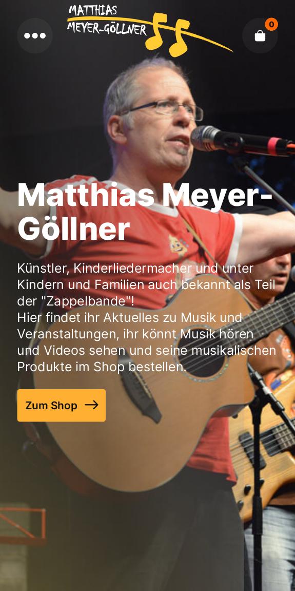 Neue Homepage – neues Glück